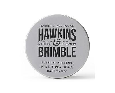 Hawkins & Brimble Vosk na vlasy s vůni elemi a ženšenu (Elemi & Ginseng Molding Wax) 100 ml