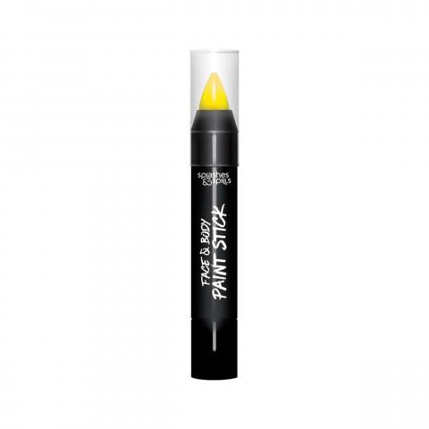 Színes test és arc ceruza - sárga