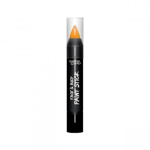 Farebná tyčinka na telo a tvár - oranžová