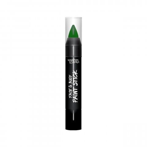 Farebná tyčinka na telo a tvár - zelená