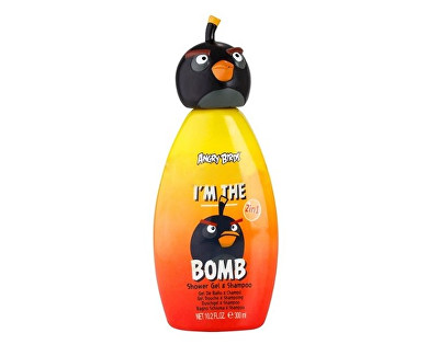 EP Line Sprchový gel a šampon 2v1 Angry Birds I´m The Bomb 300 ml