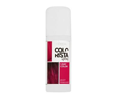 Loreal Paris Tónovací barva na vlasy ve spreji Colorista Spray 1 Hot Pink