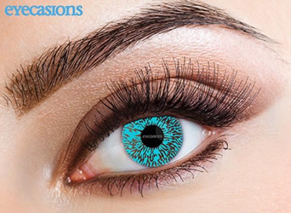Eyespy - One Tone Aqua   mesačné + 60ml roztok + púzdro zadarmo