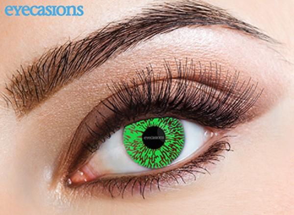 Eyespy - One Tone Green | mesačné + 60ml roztok + púzdro zadarmo