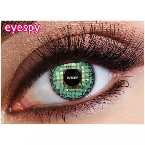 Eyespy - Marine Aqua | mesačné + 60ml roztok + púzdro zadarmo