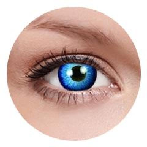 MaxVue Vision ColourVUE - Space Blue 2 čočky - crazy čočky