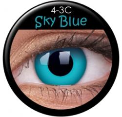 MaxVue Vision ColourVUE - Sky Blue 2 čočky - crazy čočky