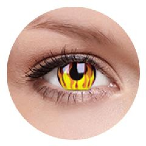 MaxVue Vision ColourVUE - Flame Hot 2 čočky - crazy čočky