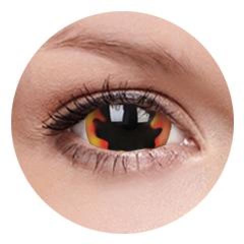 MaxVue Vision ColourVUE - Blackhole Sun 2 čočky - crazy čočky