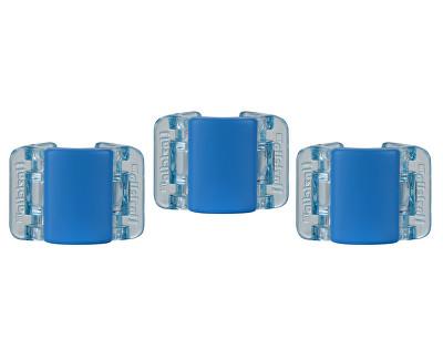 Malý skřipec MINI 3 ks - matně modrý