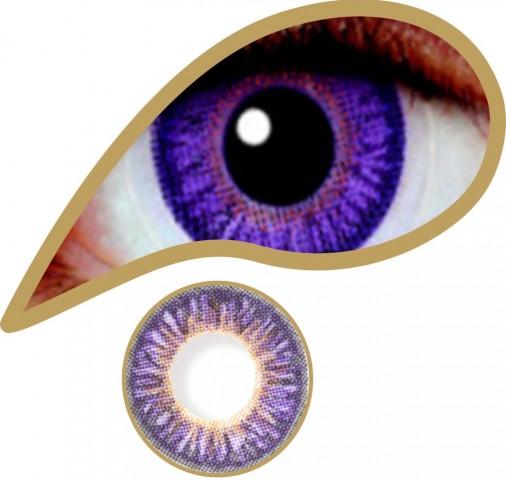 MesmerEyez - Pure Violet | éves