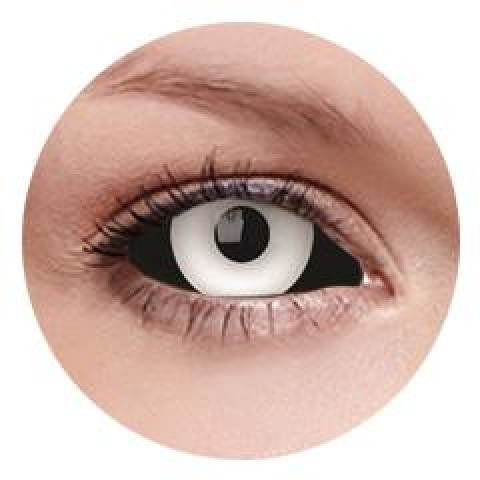 MaxVue Vision ColourVUE - Medusa - sclera | půlroční 2 čočky - crazy čočky