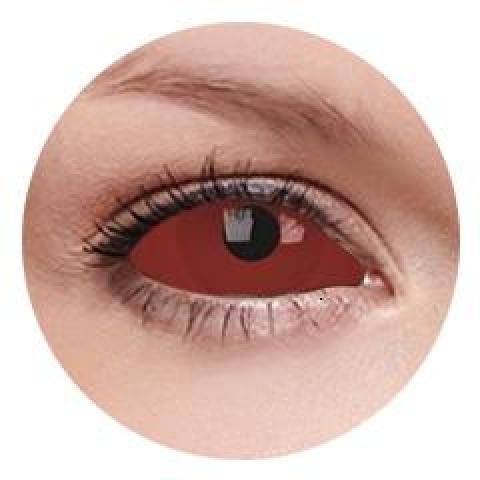 MaxVue Vision ColourVUE - Cyclop - sclera | půlroční 2 čočky - crazy čočky