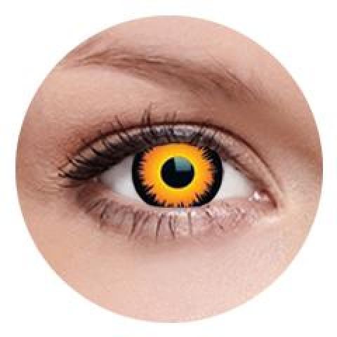 MaxVue Vision ColourVUE - Orange Werewolf 2 čočky - crazy čočky