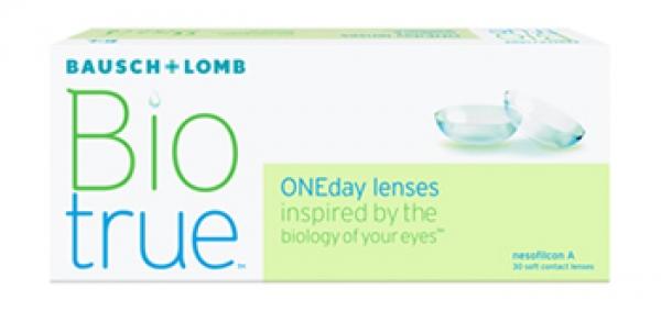 Biotrue ONEday (30 kontaktlencse) - dioptria: 2.50, görbület: 8.60, átmérő: 14.20