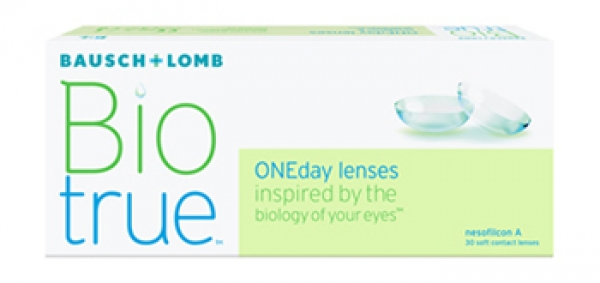 Biotrue ONEday (30 kontaktlencse) - dioptria: -2.75, görbület: 8.60, átmérő: 14.20