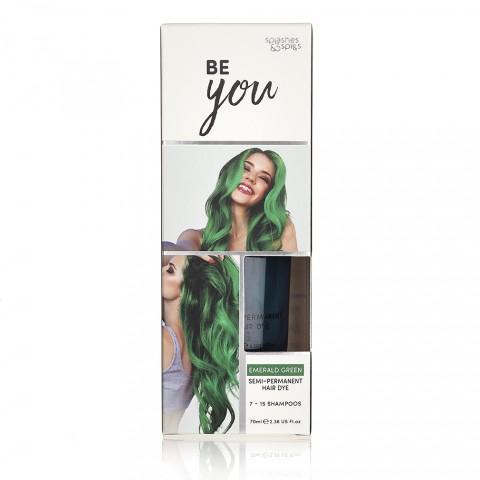 Hajfesték Hair Dye - Emerald green