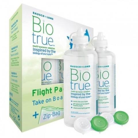 Biotrue 2x 60ml Flight Pack