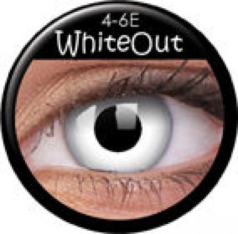 ColourVUE - WhiteOut| dioptrické - dioptria: -4.00, zakrivenie: 8.60, priemer: 14.00