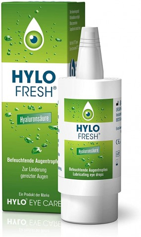 URSAPHARM Hylo Fresh -  zvlhčujúce očné kvapky s Euphrasiou 10ml