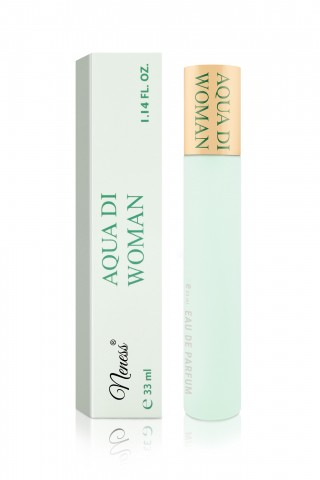 AQUA DI WOMAN - 002N inšpirovaná vôňou Acqua Di Gio* (Armani*) Dámska vôňa v 33 ml flakóne s rozprašovačom