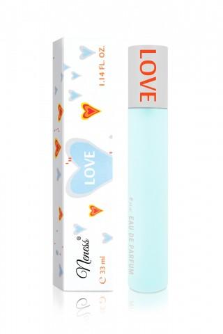 LOVE - 169N inspirováno vůní I Love Love* (Moschino*) Parfém pro ženy ve skleněném 33 ml flakónku s rozprašovačem