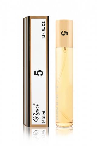 5 - 057N Inspirált No.5* (Chanel*) Női illatok 33 ml-es spray palackban