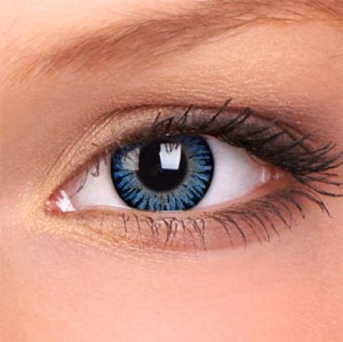 ColourVUE - 3-Tones - Blue - dioptrické | štvrťročné - dioptria: -5.50, zakrivenie: 8.60, priemer: 14.00