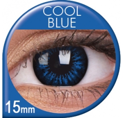 ColourVUE - Big Eyes - Cool Blue | štvrťročné