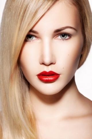 Clip-in umelé vlasy 70 cm - platinová blond