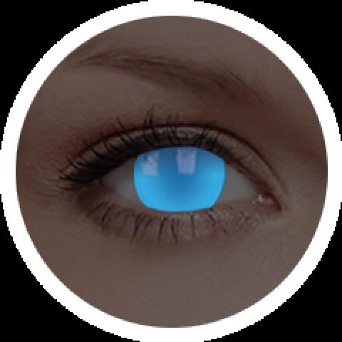 MaxVue Vision ColourVUE - Electric Blue | roční kontaktní čočky 2 čočky - crazy čočky