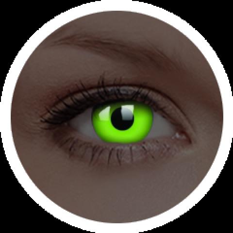 ColourVUE - Glow Green | éves kontaktlencsék