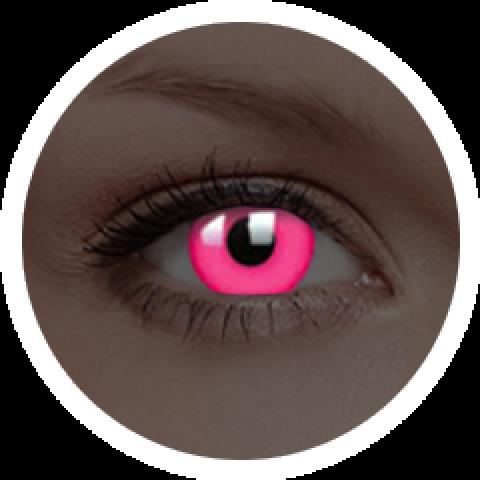 MaxVue Vision ColourVUE - Glow Pink | roční kontaktní čočky 2 čočky - crazy čočky