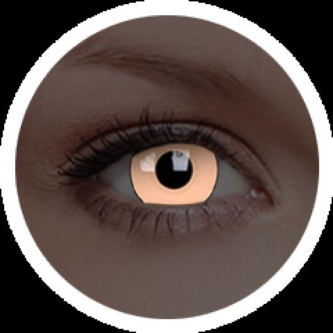 MaxVue Vision ColourVUE - Glow Luna Beige | roční kontaktní čočky 2 čočky - crazy čočky