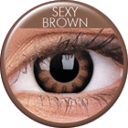 ColourVUE - Big Eyes - Sexy Brown | čtvrtletní