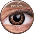 ColourVUE - Big Eyes - Szexi Brown   negyedéves
