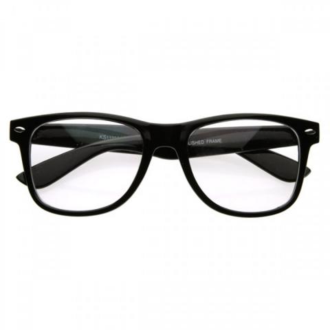 Wayfarer style - čirá skla