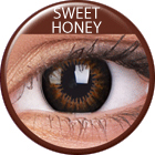 ColourVUE - Big Eyes - Sweet Honey | negyedéves