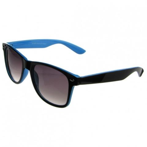 Wayfarer style - čierno - modré - Slnečné Okuliare - HappyHairShop.sk 663883bc447