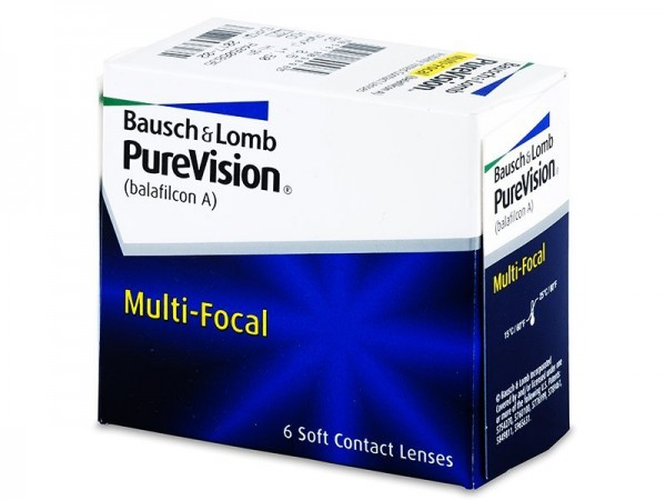 09cc49871 PureVision - multifokálne | mesačné (6 šošoviek) - Kontaktné Šošovky ...