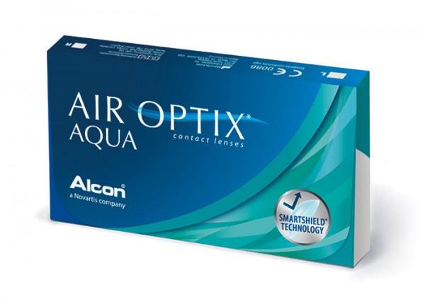 Ciba Vision Air Optix Aqua (6 čoček) - dioptrie: -10.00, zakřivení: 8.60, průměr: 14.20
