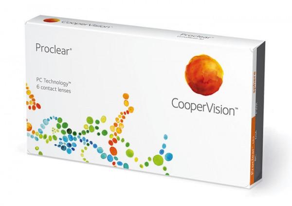 Cooper Vision Proclear Compatibles Sphere (6 čoček) - dioptrie: -15.50, zakřivení: 8.60, průměr: 14.20