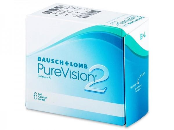 Bausch & Lomb PureVision 2HD (6 čoček) - dioptrie: -7.50, zakřivení: 8.60, průměr: 14.00