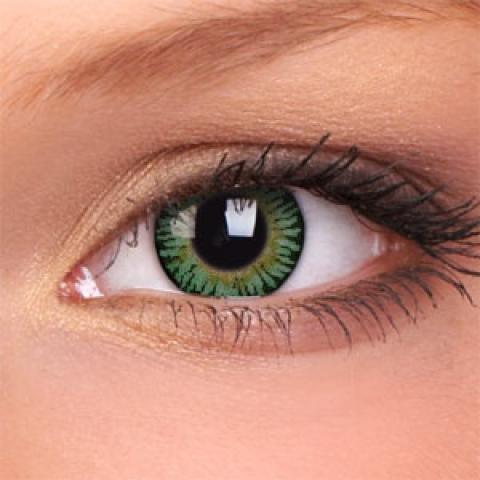 ColourVUE - 3-Tones - Green - dioptrické | čtvrtletní