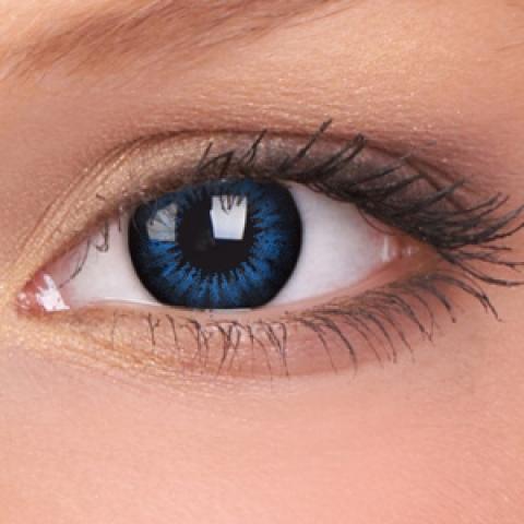 ColourVUE - Big Eyes - Cool Blue - dioptrické | štvrťročné