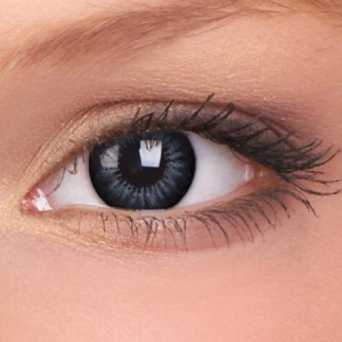 ColourVUE - Big Eyes - Evening Grey - dioptrické | štvrťročné