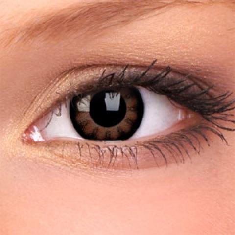 ColourVUE - Big Eyes - Sexy Brown - dioptrické   štvrťročné