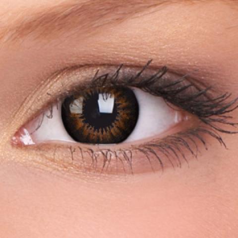ColourVUE - Big Eyes - Sweet Honey - dioptrické | štvrťročné