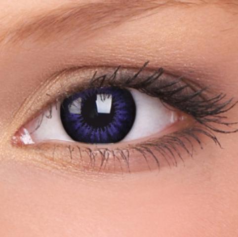ColourVUE - Big Eyes - Ultra Violet - dioptrické | štvrťročné