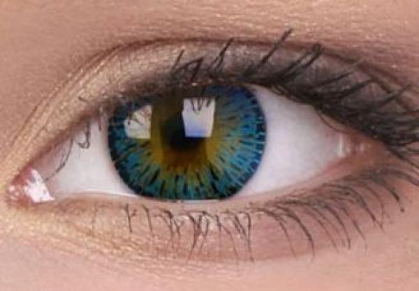 ColourVUE - Elegance Blue- dioptrické | štvrťročné